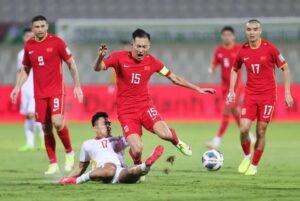 Việt Nam thua đáng tiếc trước Trung Quốc với tỷ số 2 - 3